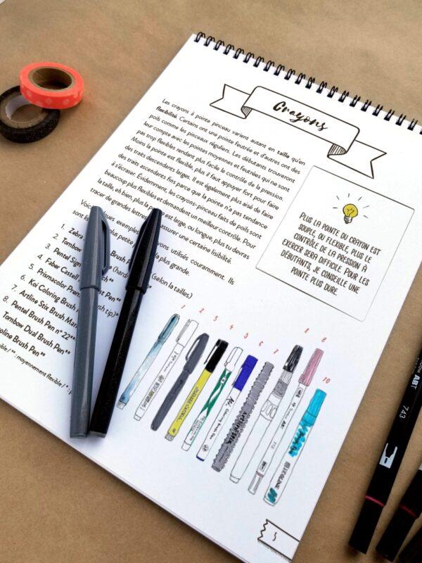 Guide d'introduction à la calligraphie moderne 07